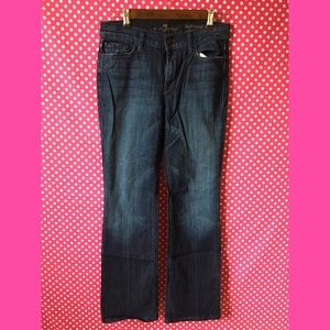 7 For All Mankind Jeans Size 28 High Waist Bootcut
